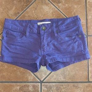 Bullhead Black Denim Shorts